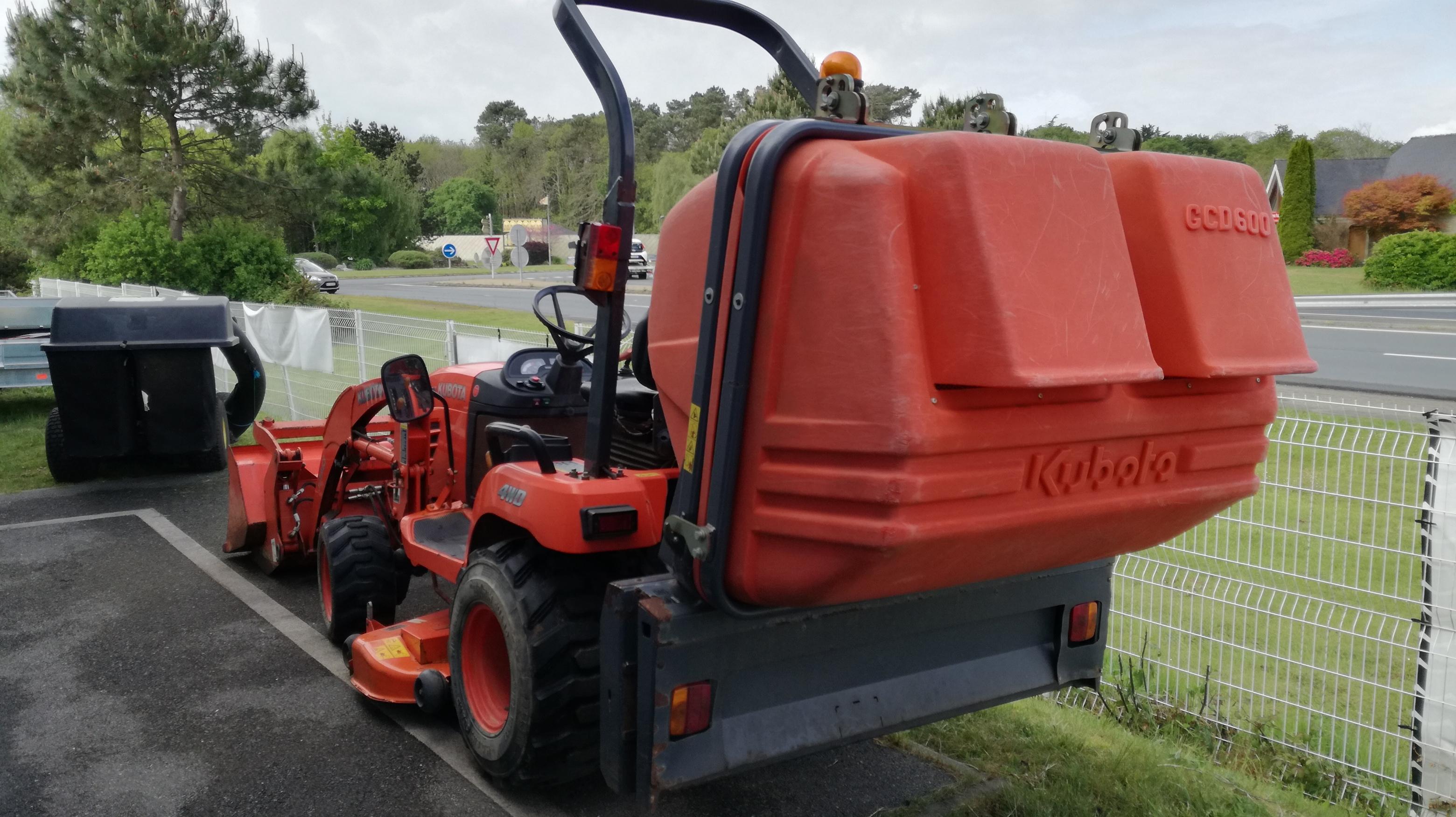 Micro-tracteur occasion Kubota BX 2350 DV