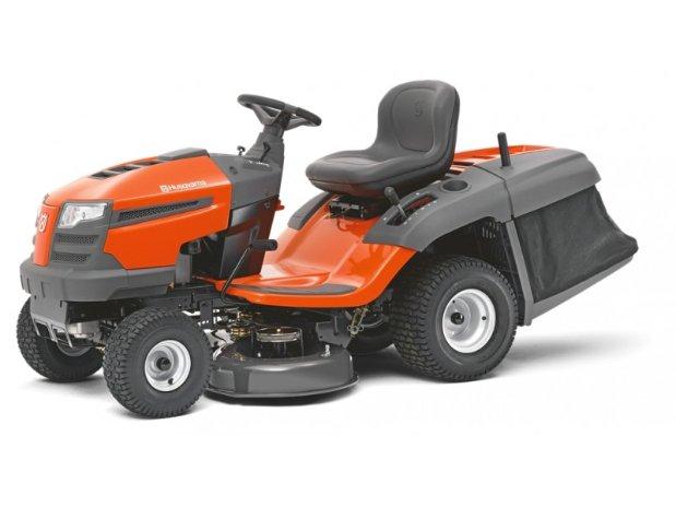 tondeuse tracteur avec bac de ramassage tc 138. Black Bedroom Furniture Sets. Home Design Ideas